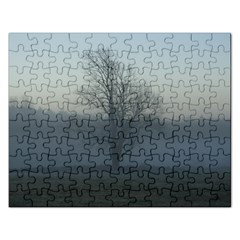 Foggy Tree Jigsaw Puzzle (Rectangle)