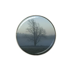 Foggy Tree Golf Ball Marker (for Hat Clip)