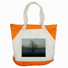 Foggy Tree Accent Tote Bag