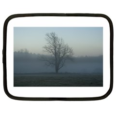Foggy Tree Netbook Sleeve (Large)