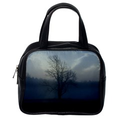 Foggy Tree Classic Handbag (One Side)