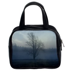 Foggy Tree Classic Handbag (Two Sides)