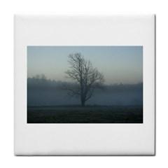 Foggy Tree Face Towel