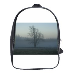Foggy Tree School Bag (XL)