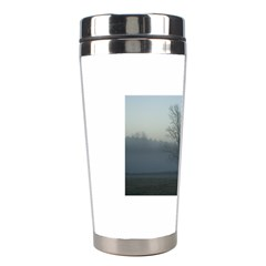 Foggy Tree Stainless Steel Travel Tumbler
