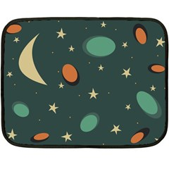 Nights Mini Fleece Blanket (Two Sided)