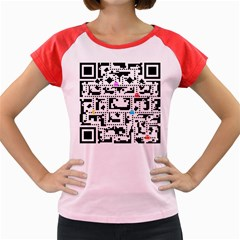 Extraordinary QR Women s Cap Sleeve T-Shirt