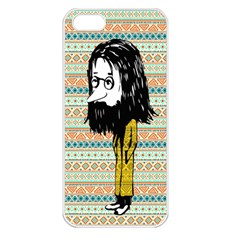 The Cheeky Buddies Apple iPhone 5 Seamless Case (White)