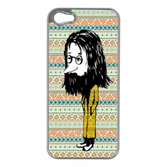 The Cheeky Buddies Apple iPhone 5 Case (Silver)