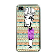 The Cheeky Buddies Apple iPhone 4 Case (Clear)