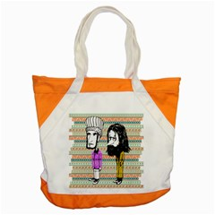 The Cheeky Buddies Accent Tote Bag