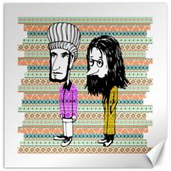 The Cheeky Buddies Canvas 20  x 20