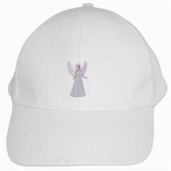 Beautiful Fairy Nymph Faerie Fairytale White Baseball Cap