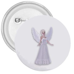 Beautiful Fairy Nymph Faerie Fairytale 3  Button