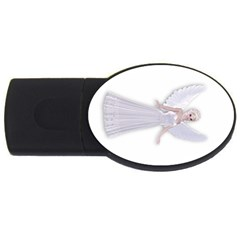 Beautiful fairy nymph faerie fairytale 2GB USB Flash Drive (Oval)