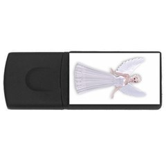 Beautiful fairy nymph faerie fairytale 1GB USB Flash Drive (Rectangle)