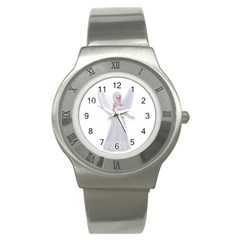 Beautiful fairy nymph faerie fairytale Stainless Steel Watch (Slim)