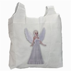 Beautiful Fairy Nymph Faerie Fairytale Recycle Bag (two Sides)