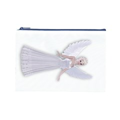 Beautiful fairy nymph faerie fairytale Cosmetic Bag (Large)