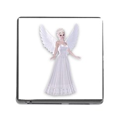 Beautiful fairy nymph faerie fairytale Memory Card Reader with Storage (Square)