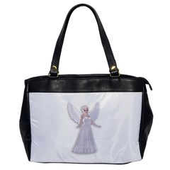 Beautiful fairy nymph faerie fairytale Oversize Office Handbag (One Side)