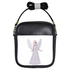 Beautiful fairy nymph faerie fairytale Girl s Sling Bag