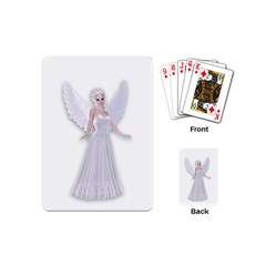 Beautiful fairy nymph faerie fairytale Playing Cards (Mini)