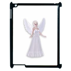 Beautiful fairy nymph faerie fairytale Apple iPad 2 Case (Black)