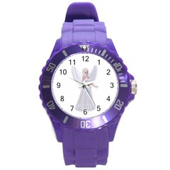 Beautiful fairy nymph faerie fairytale Plastic Sport Watch (Large)