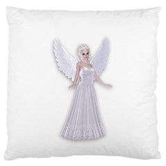 Beautiful fairy nymph faerie fairytale Large Cushion Case (Two Sided)