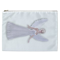 Beautiful fairy nymph faerie fairytale Cosmetic Bag (XXL)