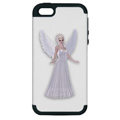 Beautiful fairy nymph faerie fairytale Apple iPhone 5 Hardshell Case (PC+Silicone)