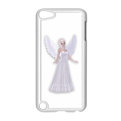 Beautiful fairy nymph faerie fairytale Apple iPod Touch 5 Case (White)