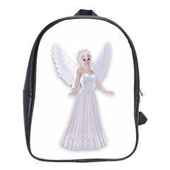 Beautiful fairy nymph faerie fairytale School Bag (XL)