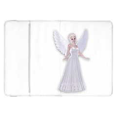 Beautiful fairy nymph faerie fairytale Samsung Galaxy Tab 8.9  P7300 Flip Case