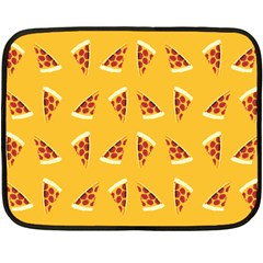 Pizza All Day, Everyday Mini Fleece Blanket (single Sided)
