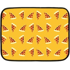 Pizza All Day, Everyday Mini Fleece Blanket (two Sided)