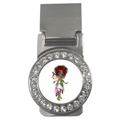 Fairy magic faerie in a dress Money Clip (CZ)