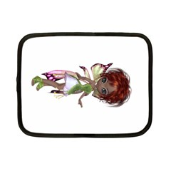 Fairy magic faerie in a dress Netbook Sleeve (Small)