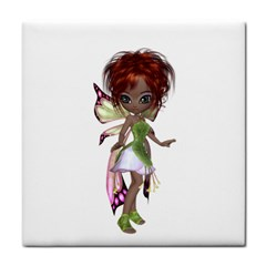 Fairy magic faerie in a dress Face Towel