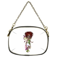 Fairy magic faerie in a dress Chain Purse (Two Sided)