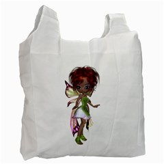 Fairy magic faerie in a dress Recycle Bag (One Side)