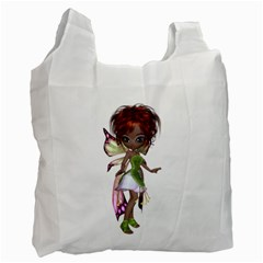 Fairy magic faerie in a dress Recycle Bag (Two Sides)
