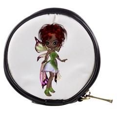 Fairy magic faerie in a dress Mini Makeup Case