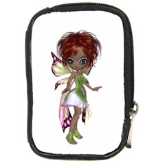 Fairy Magic Faerie In A Dress Compact Camera Leather Case