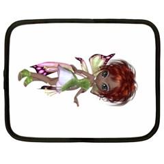 Fairy magic faerie in a dress Netbook Sleeve (XL)