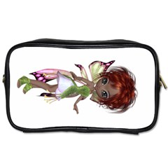 Fairy Magic Faerie In A Dress Travel Toiletry Bag (one Side)