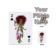 Fairy magic faerie in a dress Playing Cards 54 Designs (Mini)