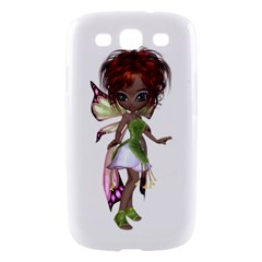 Fairy magic faerie in a dress Samsung Galaxy S III Hardshell Case