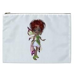Fairy Magic Faerie In A Dress Cosmetic Bag (xxl)
